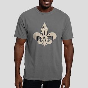 WE ALL DAT Mens Comfort Colors Shirt
