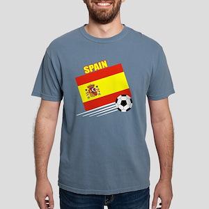 spain soccer &ball drk.p Mens Comfort Colors Shirt