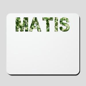 Matis, Vintage Camo, Mousepad