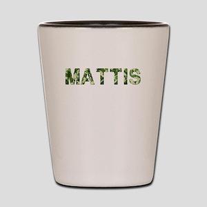 Mattis, Vintage Camo, Shot Glass