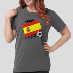 spain soccer &ball Womens Comfort Colors Shirt
