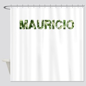 Mauricio, Vintage Camo, Shower Curtain