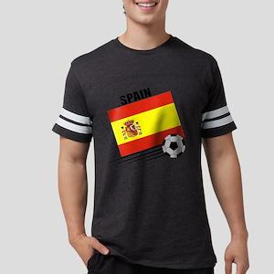 spain soccer &ball Mens Football Shirt
