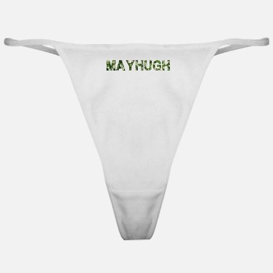 Mayhugh, Vintage Camo, Classic Thong