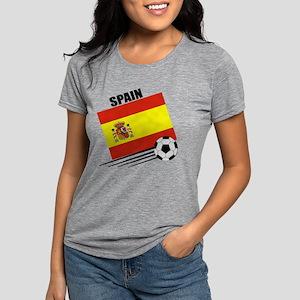 spain soccer &ball Womens Tri-blend T-Shirt
