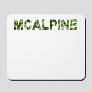 Mcalpine, Vintage Camo, Mousepad