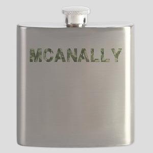 Mcanally, Vintage Camo, Flask