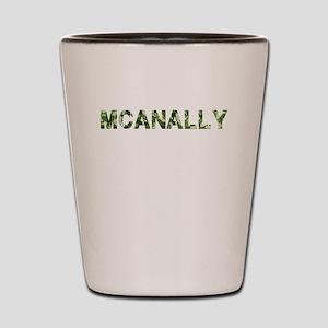 Mcanally, Vintage Camo, Shot Glass