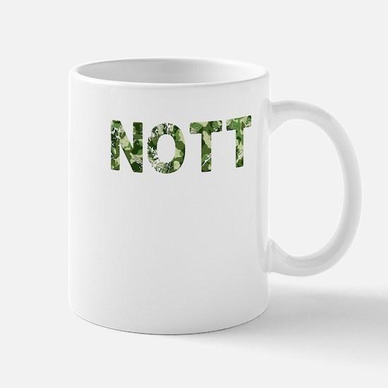 Nott, Vintage Camo, Mug