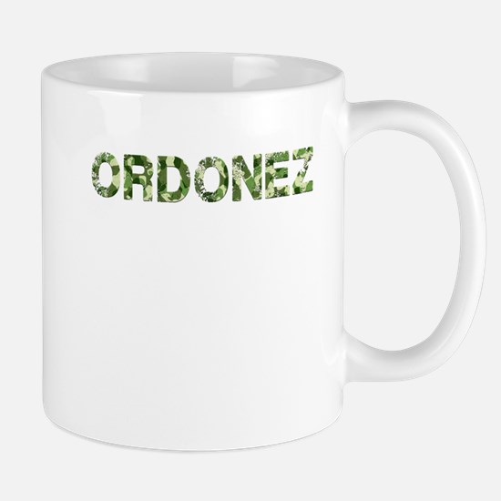 Ordonez, Vintage Camo, Mug