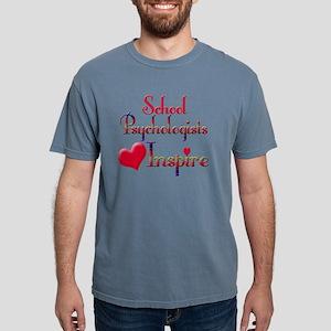Teachers Inspire Psychol Mens Comfort Colors Shirt
