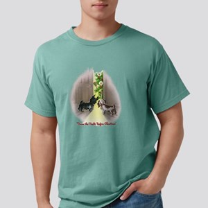 XmasDogs Mens Comfort Colors Shirt