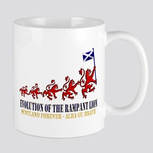 Rampant Lion Evolution Mug