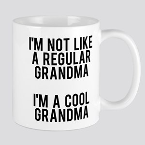 I'm not like a regular grandma, 11 oz Ceramic Mug