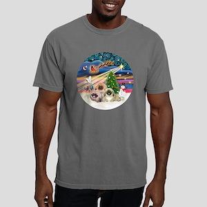 Xmas Magic - Pekingese ( Mens Comfort Colors Shirt