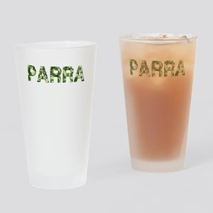 Parra, Vintage Camo, Drinking Glass
