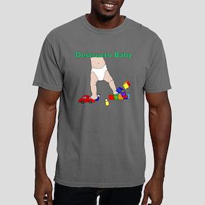 Destructo Baby Mens Comfort Colors Shirt