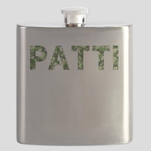 Patti, Vintage Camo, Flask