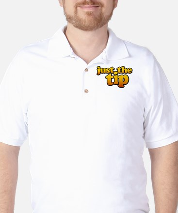 JUST THE TIP Golf Shirt
