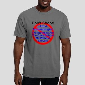 Don't Shoot I am a archa Mens Comfort Colors Shirt