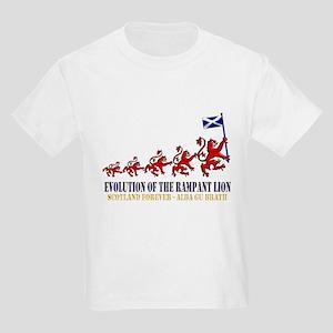 Rampant Lion Evolution Kids Light T-Shirt