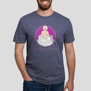 Buddha Belly Mens Tri-blend T-Shirt