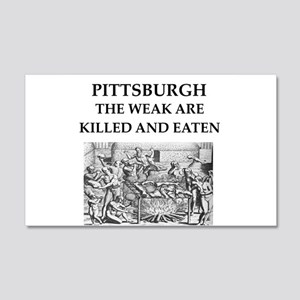 PITTSBURGH 20x12 Wall Decal
