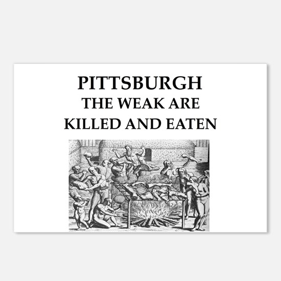 PITTSBURGH Postcards (Package of 8)
