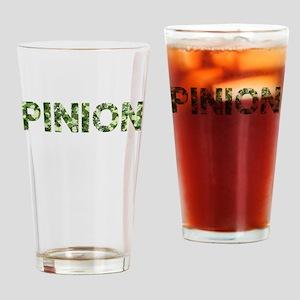 Pinion, Vintage Camo, Drinking Glass