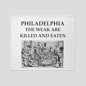 philadelphia Throw Blanket
