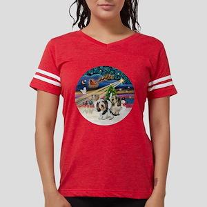 Xmas Magic - Petit Bassets ( Womens Football Shirt