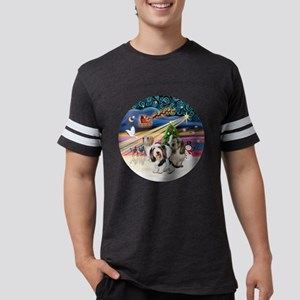 Xmas Magic - Petit Bassets (TH Mens Football Shirt