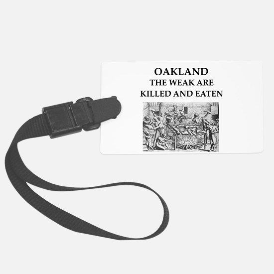 oakland Luggage Tag