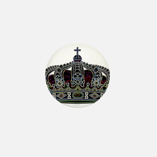 Royal Crown 1 Mini Button