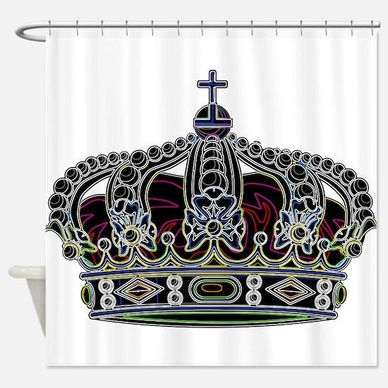 Royal Crown 1 Shower Curtain