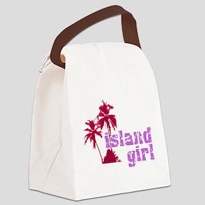 islandgirl Canvas Lunch Bag