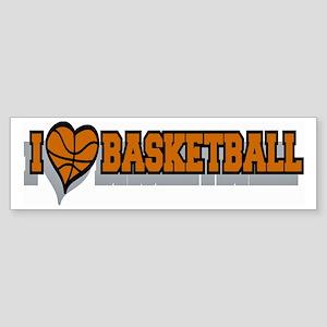 Basketball Bumper Bumper Sticker