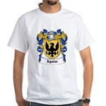 Aguiar Coat of Arms White T-Shirt
