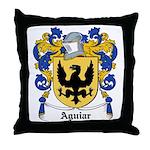 Aguiar Coat of Arms Throw Pillow