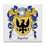 Aguiar Coat of Arms Tile Coaster