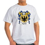 Aguiar Coat of Arms Ash Grey T-Shirt