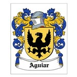 Aguiar Coat of Arms Small Poster