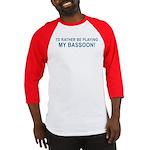 Playing Bassoon Baseball Jersey