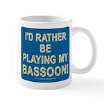 Playing Bassoon Mug
