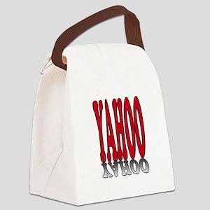 YAHOO Canvas Lunch Bag