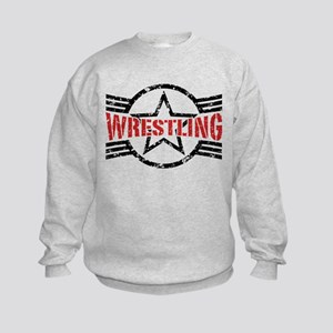 Wrestling Kids Sweatshirt