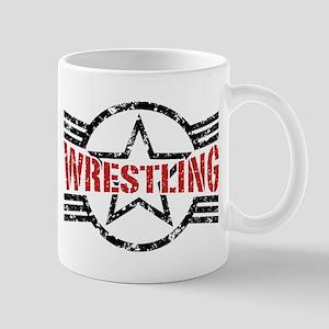 Wrestling Mug