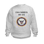 USS CARMICK Kids Sweatshirt