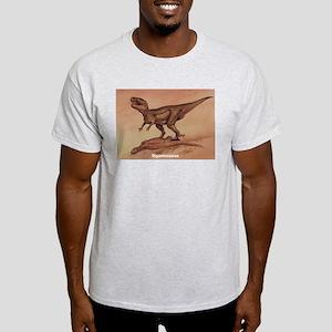 Gigantosaurus Dinosaur (Front) Ash Grey T-Shirt