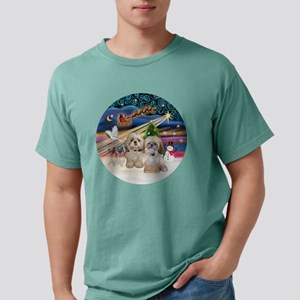 Xmas Magic - Shih Tzu (T Mens Comfort Colors Shirt
